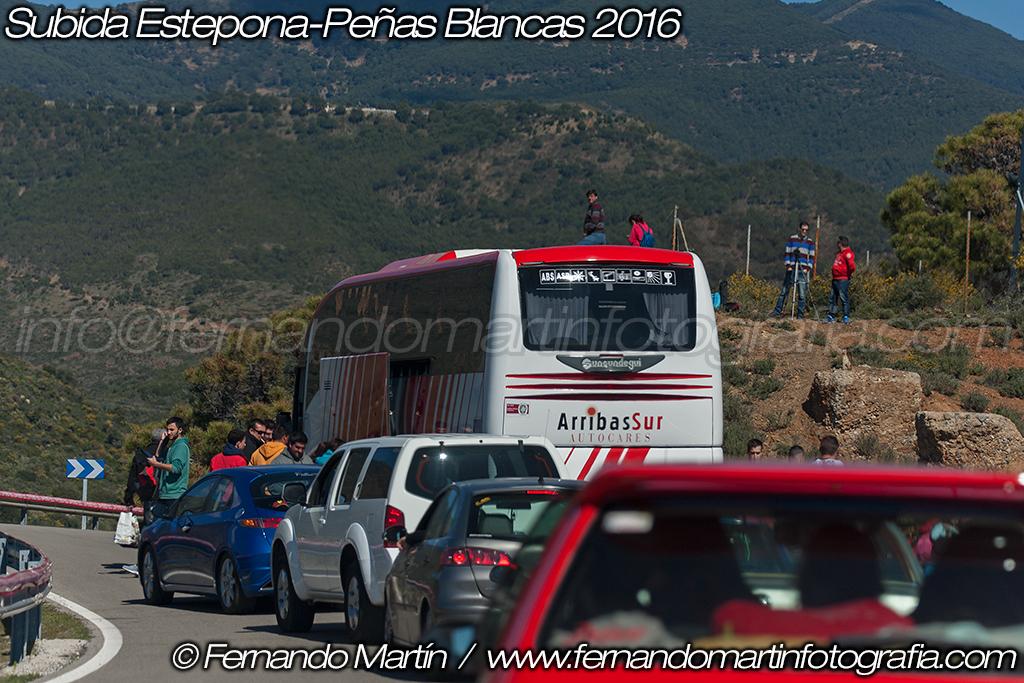Subida a Estepona Peñas Blancas 2016