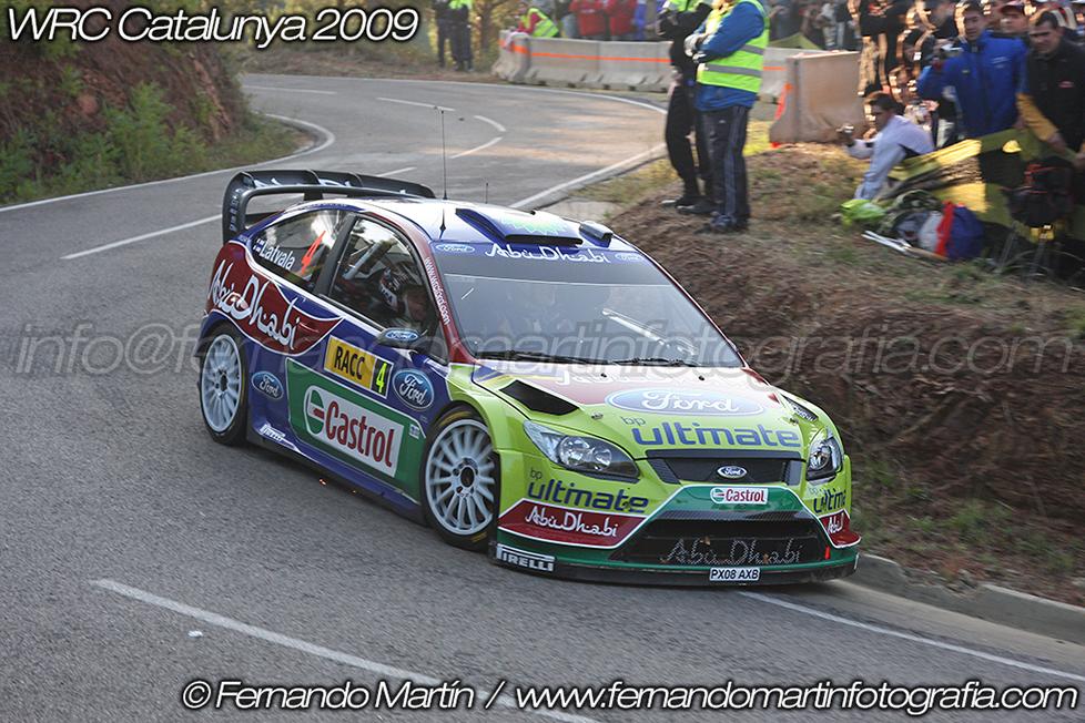 WRC Catalunya 2009
