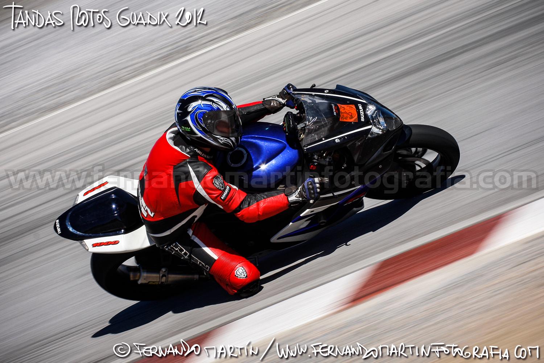 Tandas de motos en Guadix 2012