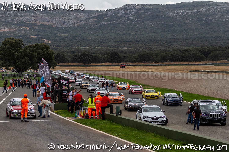 24 Horas de Ascari 2019 8000 Vueltas