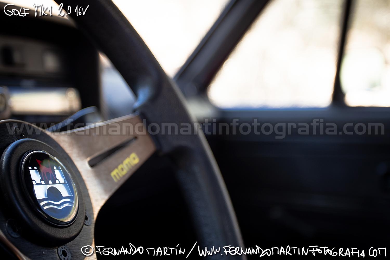VW Golf MK1 swap 2.0 16v