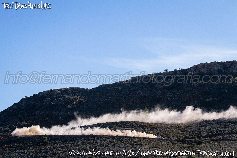 Test Toyota Yaris WRC 2020